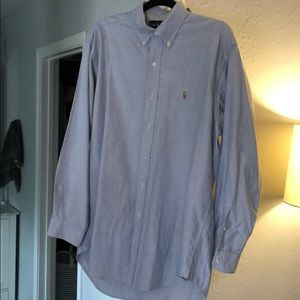 Ralph Lauren Blue Button down